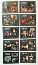 Star Trek The Complete TNG Series 2 Best of the Holodeck Set of 9 + H10 Reward