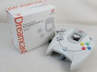 Sega Dreamcast Official Controller HKT-7701 Boxed DC Game Import JAPAN 1329