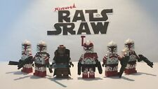 Lego Star Wars minifigures - Clone Custom Troopers - Ryloths Last Stand
