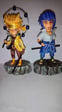 Naruto Shippuden Uzumaki Naruto Six Paths Sage & Uchiha Sasuke Figure New No Box