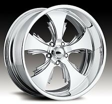 "Pro Wheels REAPER 17"" Polished Aluminum Billet Wheels Rims (set of 4)"