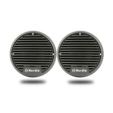 "1 Pair 3"" Outdoor Waterproof Boat Marine Car Indoor UV Plastics Speakers"