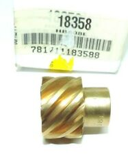 "Boston Gear HB808L Plain Helical  0.5 "" Bore 8 Pitch 8 Teeth LH Bronze 45 Deg"