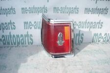 1976-1979 CADILLAC SEVILLE FACTORY LEFT REAR TAILLIGHT TAILLAMP TAIL LIGHT LAMP
