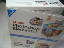 Adobe Photoshop Elements 6 Premier 4 Photo Video Editing Software In Retail Box