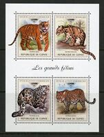 GUINEA 2018  LARGE CATS  SHEET MINT NH