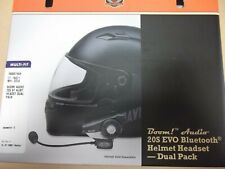 HARLEY-DAVIDSON BOOM! AUDIO 20S BLUETOOTH HELMET HEADSET - DUAL PACK #76000740A