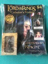 Eaglemoss LOTR Lead Figure #84-Numenorian Knight Boxed+Magazine-Read Description