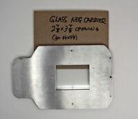 Omega E Enlarger (5x7) Glass Carrier For 3x4 Graflex Negatives RARE