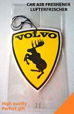 Car air freshener Volvo moose emblem from sticker - perfume New Car scent, Y18