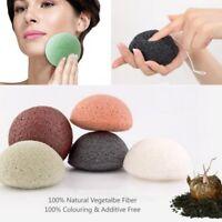 Natural Konjac Konnyaku Jelly Fiber Face Cleansing Wash Sponge Puff