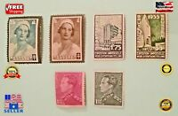 Collectors Stamps, uncirculated, Early 20th Century, European, Lot of 6