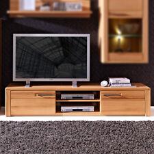 TV Board nature Plus TV Element 190 Wohnzimmer Media Möbel Kernbuche teilmassiv