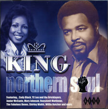 """KING NORTHERN SOUL  """"UPTEMPO & UPTOWN SOUL FROM A MAJOR BLACK MUSIC LABEL""""  CD"""