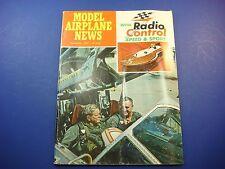 Model Airplane News September 1969 With New Radio Control Speed & Sport! VTO