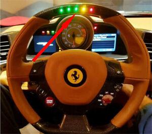 Ferrari458,599,430,488 California T Steering Wheel  Colorful Led Unit modify