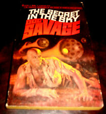 Doc Savage 20 The Secret in the Sky by Kenneth Robeson 1st Bantam edition 1967