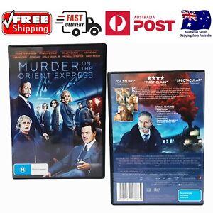 MURDER ON THE ORIENT EXPRESS DVD REGION 4 (JOHNNY DEPP,PENELOPE CRUZ)