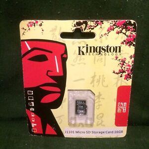 KINGSTON: J1101 Micro SD Storage Card 16G