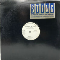 "Sting Vinyl Record ""Fortress Around Your Heart"" Rare Promo 12"""
