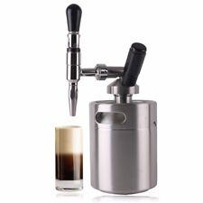 Nitro Cold Brew Coffee Maker stainless steel Mini keg Homebrew coffee NitroBrew