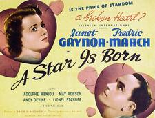 A Star Is Born 1937 Janet Gaynor, Fredric March Drama  DVD