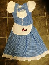 Adult Dorothy Fancy Dress Wizard Of Oz size 10-12 Costume Ladies Womens