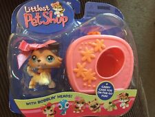 NIP LPS LITTLEST PET SHOP 58 SAGE COLLIE DOG RAISED PAW CARRIER COLLAR NEW VHTF