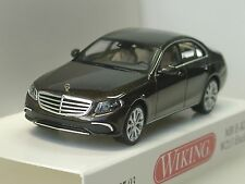 Wiking Mercedes CLASE E W 213 , Marrón Metalizado - 0227 03 - 1:87