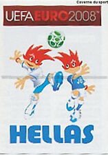 N°358 VIGNETTE PANINI MASCOTTE GREECE EURO 2008 STICKER