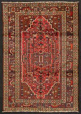 TAPPETO PERSIANO SHIRAZ ANNODATO A MANO cm. 260 x 186