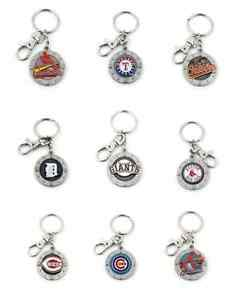 MLB Impact Keyring Keychain - Pick Your Team