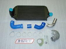 Golf 2 16v-g60 de aire de radiador kit 180 ° cargador arco mangueras de silicona azul