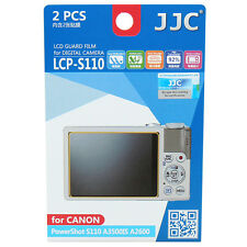 JJC LCP-S110 LCD Camera Screen Display Protector for CANON PowerShot S110 A3500