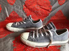 Converse Grey Jersey Trainers Kids Size 3