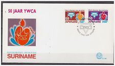 Surinam / Suriname 1992 FDC 156 YWCA young woman christian association