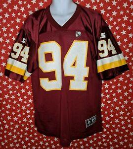 VTG Dana Stubblefield Washington Redskins Starter NFL Jersey large NEW 90s A443