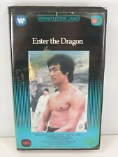 ENTER THE DRAGON VHS Tape Warner Home Video Clamshell Bruce Lee