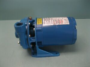 1 x 1-1/4-5 Goulds 3642 End Suction Centrifugal Pump 1/3 HP Motor NEW D20 (2937)