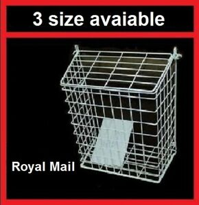 Letterbox Cage Letter Guard Basket Door Mail Cather Post Guard Wire Protector LB