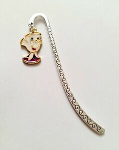 Cute CHIP Tea Cup Beauty and The Beast Metal Bookmark Kids Mothers Day Gift UK