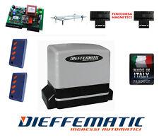 Kit motore cancello scorrevole 600kg 230V automazione con Attuatore Centrale 2TX