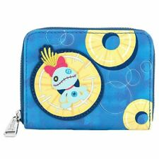 More details for loungefly x disney lilo and stitch pineapple scrump clutch purse wallet
