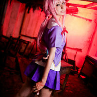 Animer Cosplay Costume Gasai Yuno Cosplay Sets Superior Quality Anime Conventi3C