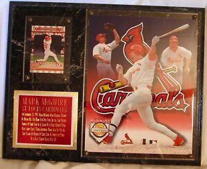 Mark McGwire St. Louis Cardinals History Making 53th Home Run Plaque NIB
