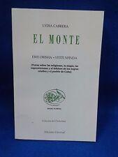 LIBRO EL MONTE RELIGION YORUBA DE CUBA PALO IFA SANTERIA