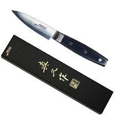 """Japanese MAC DA PK-90 Damascus Series 3-1/2"""" Blade Paring Knife, Made in Japan"""
