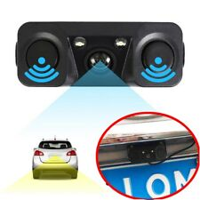3in-1 LCD Car SUV Parking Radar Sensor Car Rear View Backup Camera