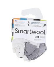 Smartwool Women's PhD Run Ultra Light Micro Sock in White 10201 Size L