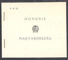 Hungary 1949 UPU Booklet Sc# 859-60, C63 NH